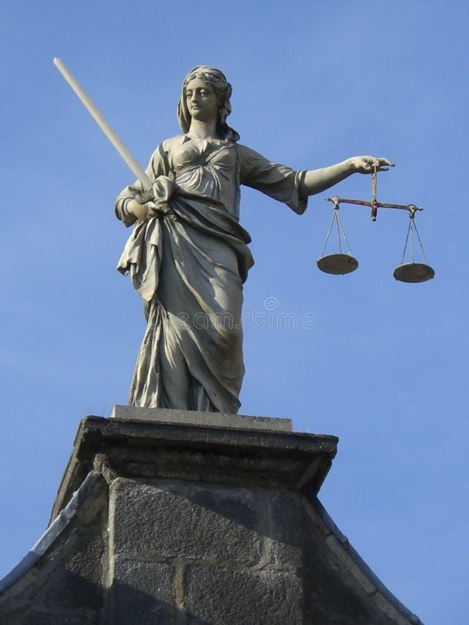 Statua della giustizia fotografia stock libera da diritti