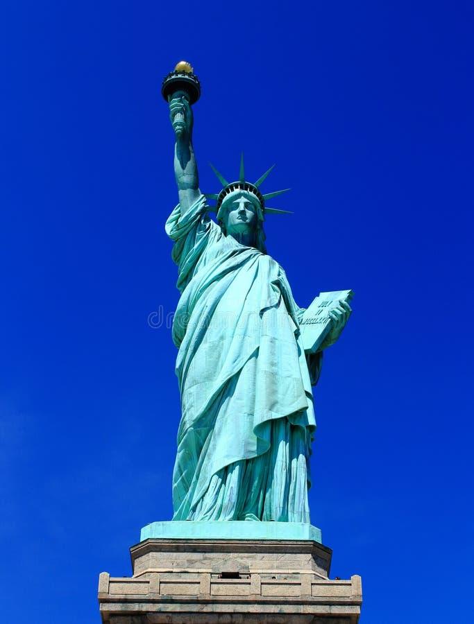 Statua della libertà, New York, U.S.A. fotografie stock