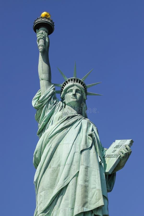 Statua della libertà, simbolo di New York e U.S.A. fotografie stock libere da diritti