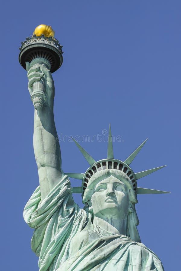 Statua della libertà, simbolo di New York e U.S.A. immagini stock libere da diritti