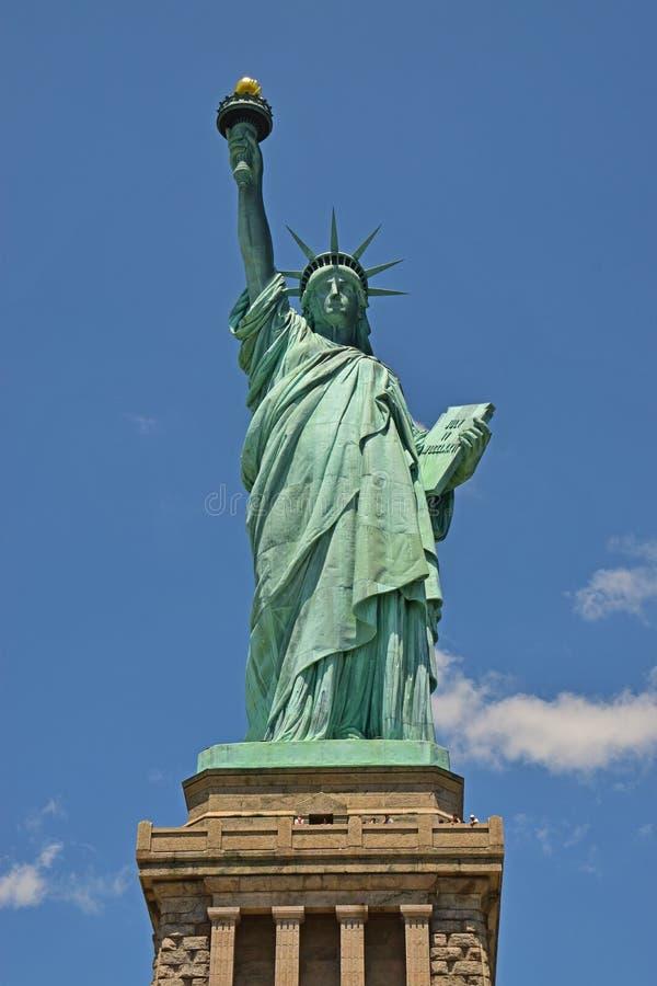 Statua della libertà su Liberty Island immagini stock libere da diritti