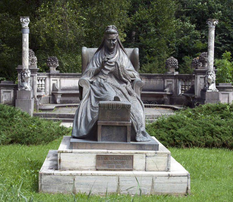 Statua della regina Elisabeth immagine stock libera da diritti