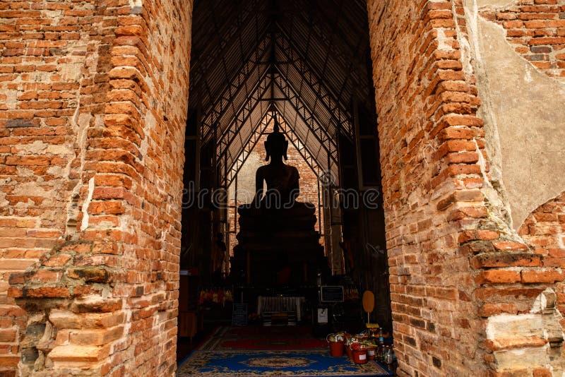 Statua della Tailandia buddha fotografia stock
