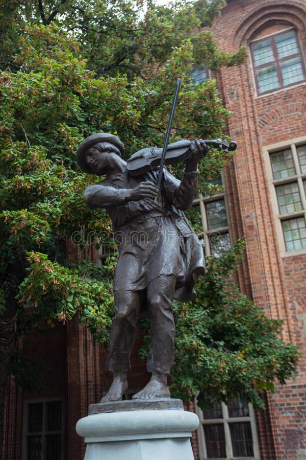 Statua della trave fotografie stock