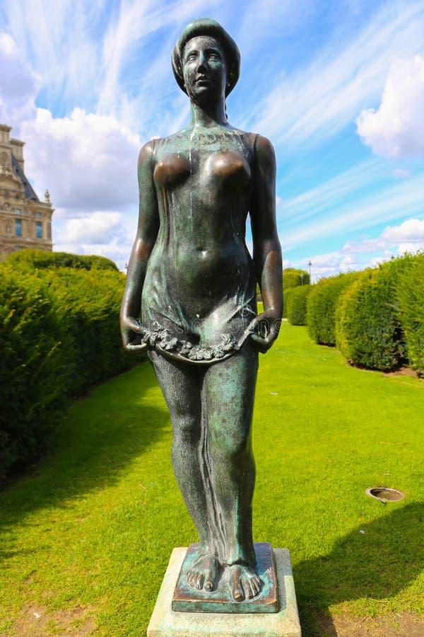 Statua delle donne - Parigi immagine stock libera da diritti