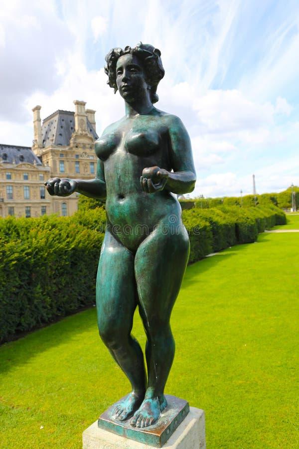 Statua delle donne - Parigi immagine stock