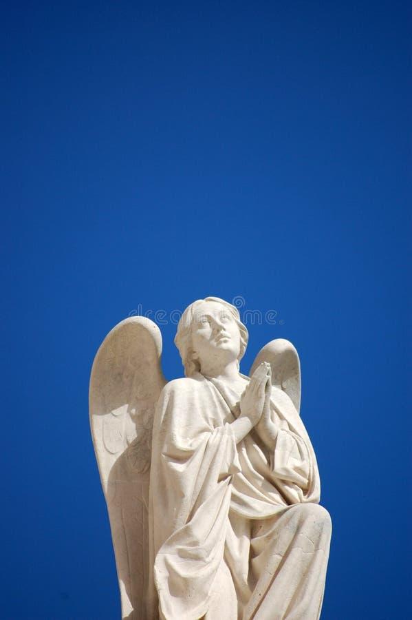 Statua di angelo immagini stock