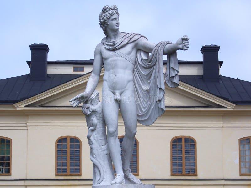 Statua di Apollo fotografia stock libera da diritti