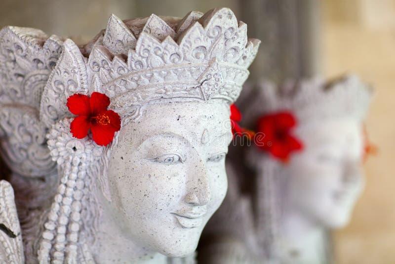 Statua di balinese fotografia stock