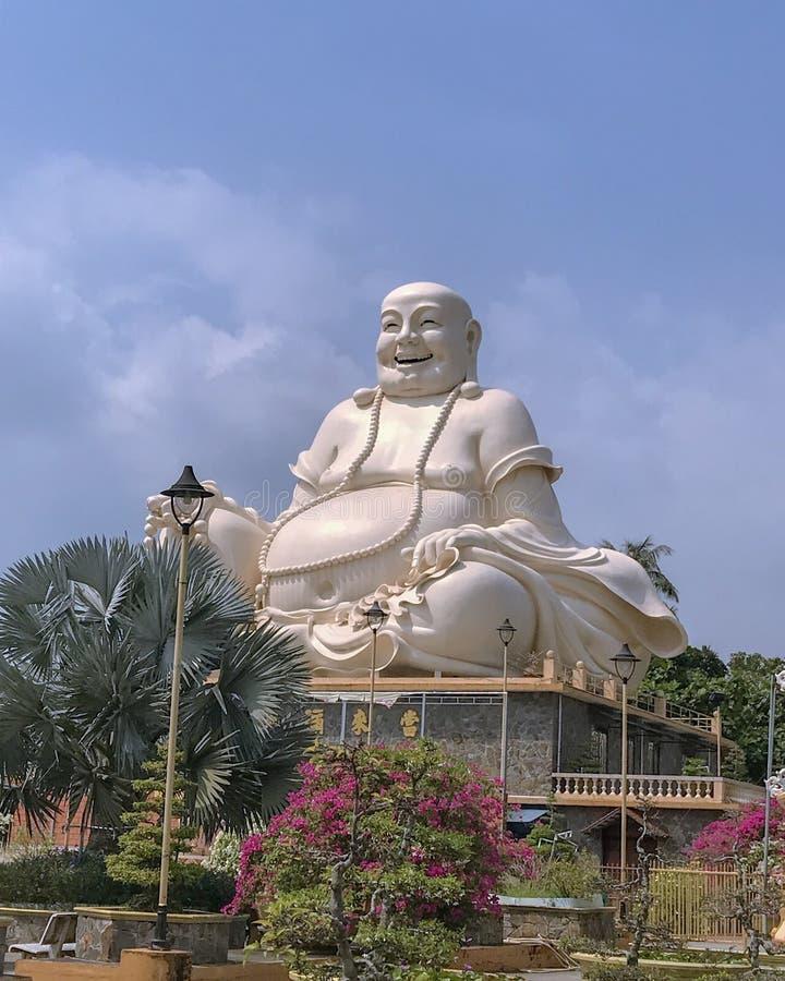 Statua di Buddha da un tempio nel Vietnam fotografia stock libera da diritti