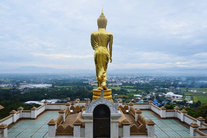 Statua di Buddha della statua di Buddha, tempio buddista fotografie stock libere da diritti