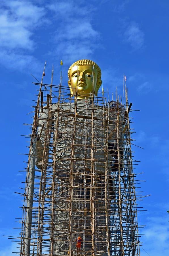 Statua di Buddha in Tailandia Ang Thong fotografia stock