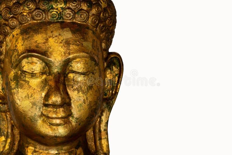Statua di Buddha usata come amuleti della religione di buddismo fotografia stock
