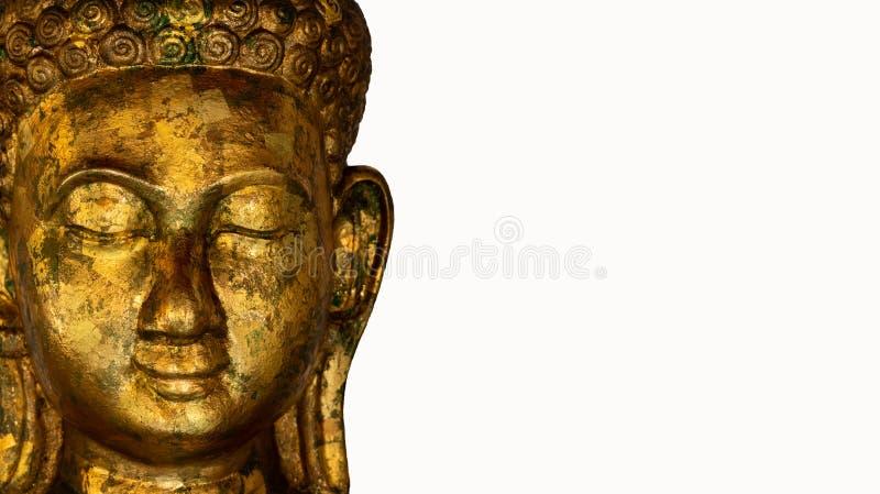 Statua di Buddha usata come amuleti della religione di buddismo fotografie stock libere da diritti