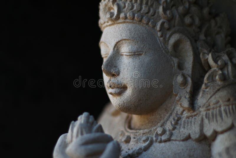 Statua di Dio Vhisnu fotografia stock