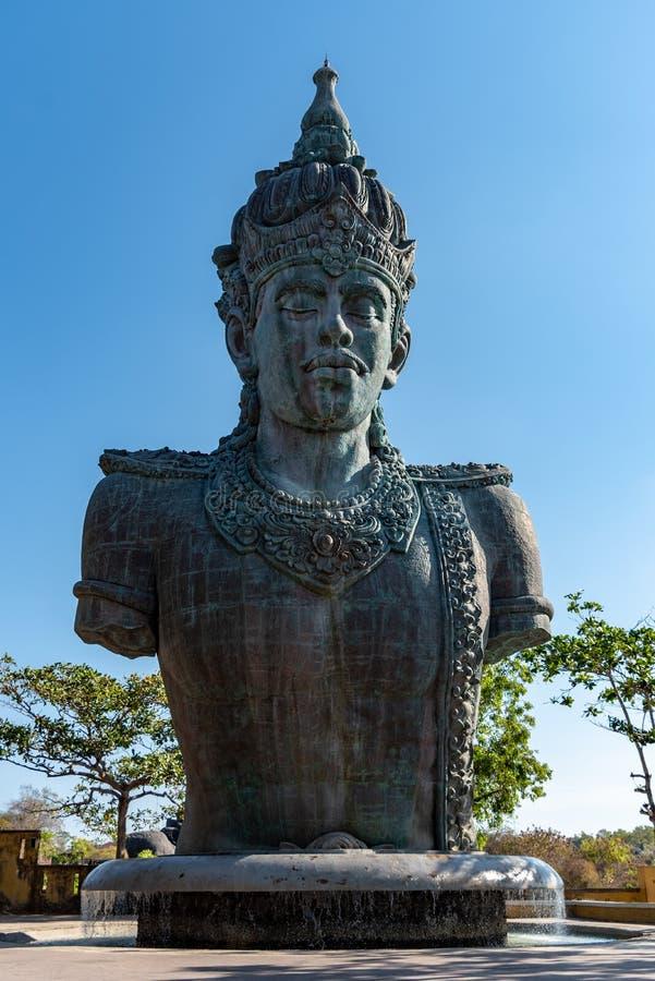 Statua di Dio Wisnu immagini stock libere da diritti