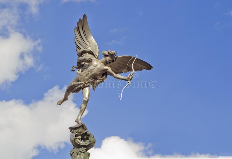 Statua di eros immagine stock