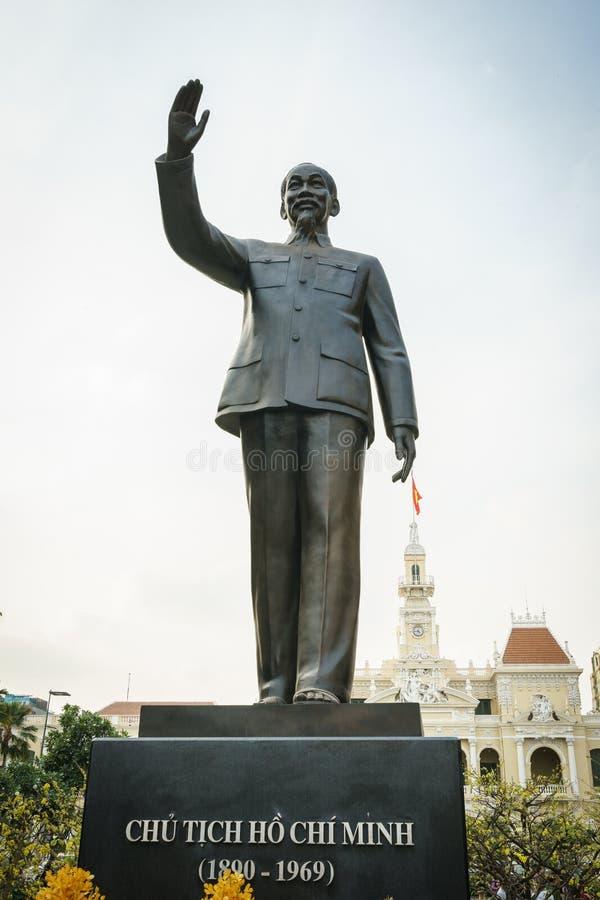 Statua di Ho Chi Minh fotografia stock