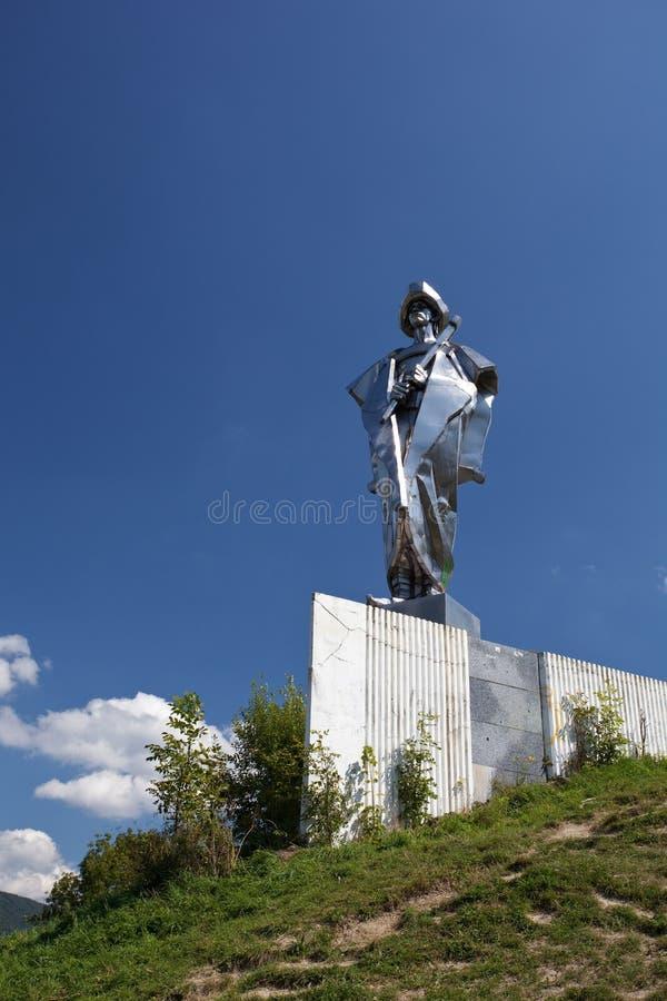Statua di Janosik immagine stock