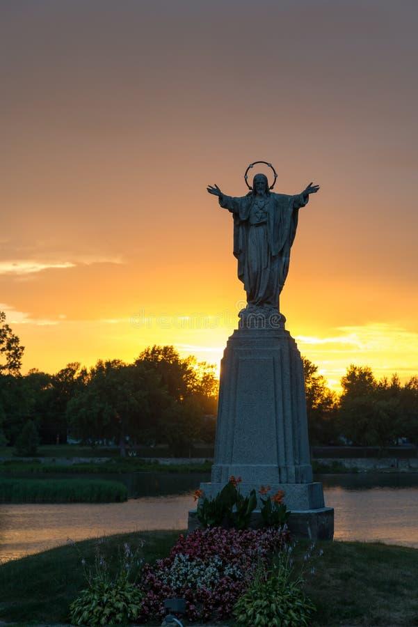 Statua di Jesus immagine stock