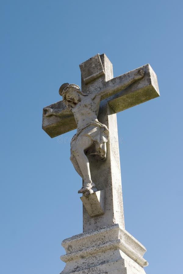 Download Statua Di Jesus Sulla Traversa Immagine Stock - Immagine di benedica, luce: 209467