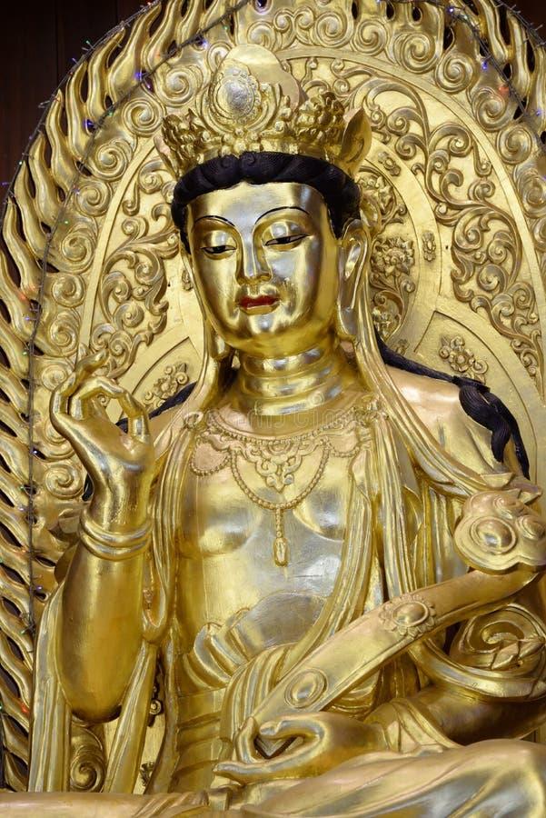 Statua di Kuan Yin fotografia stock libera da diritti