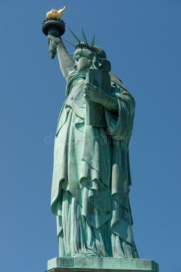 Download Statua di libertà immagine stock. Immagine di monumento - 3141353