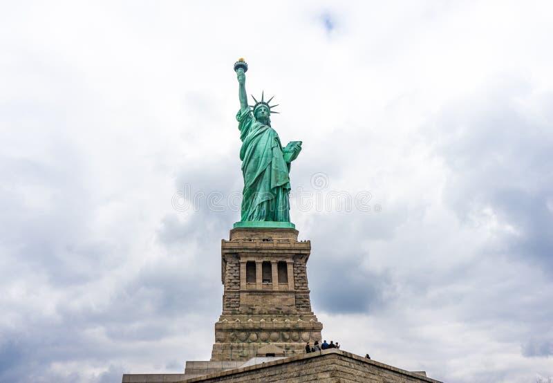 Statua di libertà a New York immagine stock