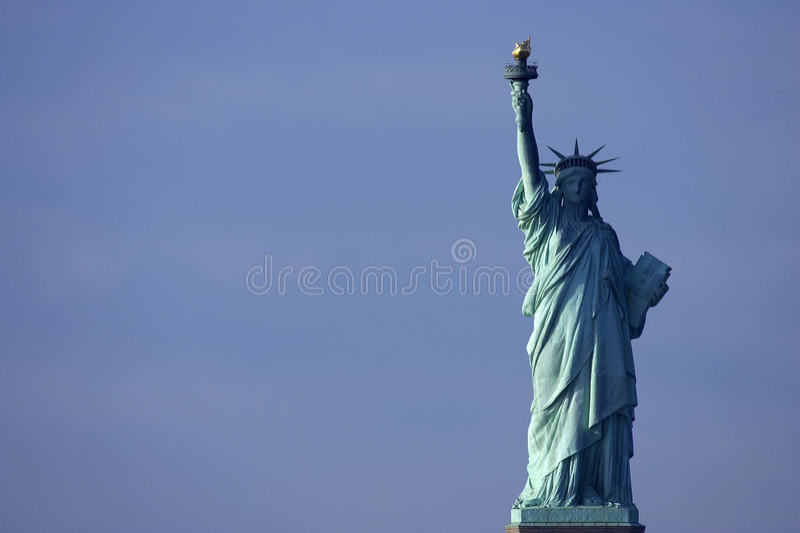 Statua di libertà, New York, immagine stock libera da diritti