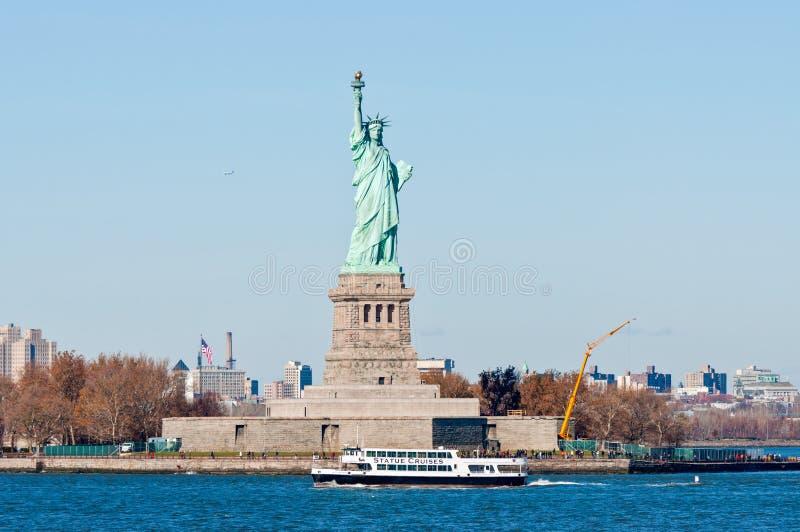 Statua di libertà, New York City, S immagini stock libere da diritti