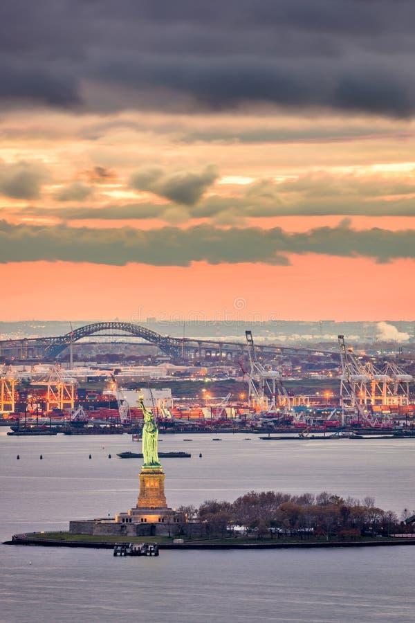 Statua di libert? a New York fotografia stock