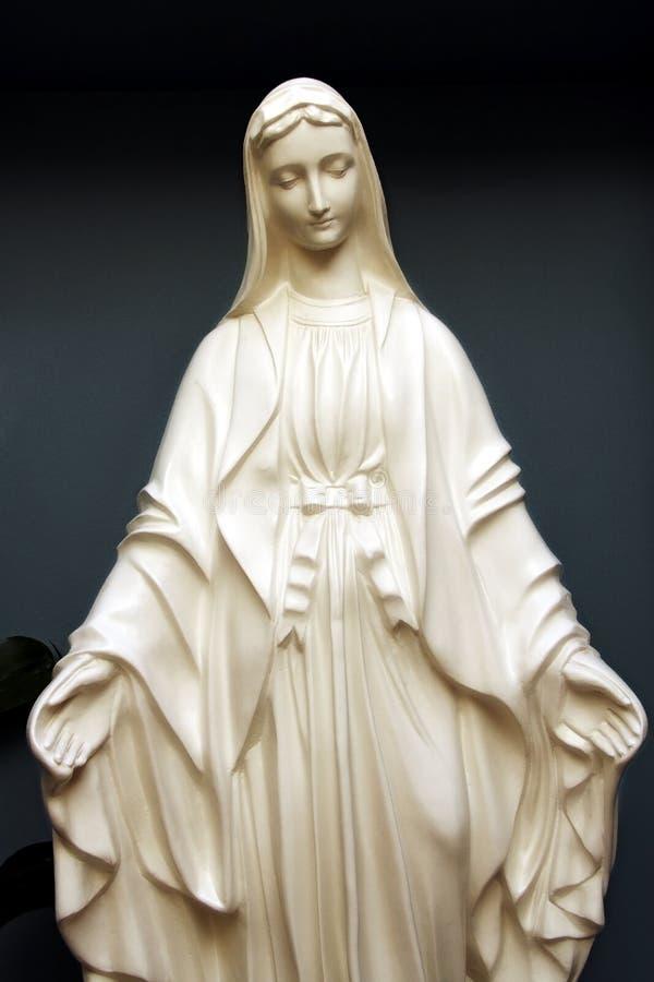 Statua di Mary santa fotografia stock