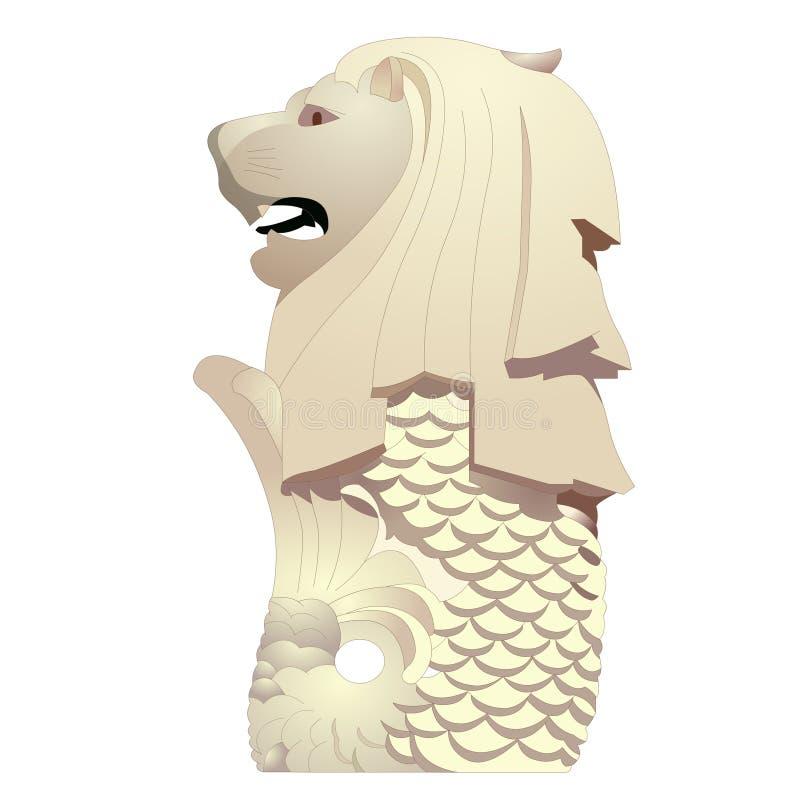 Statua di Merlion immagine stock