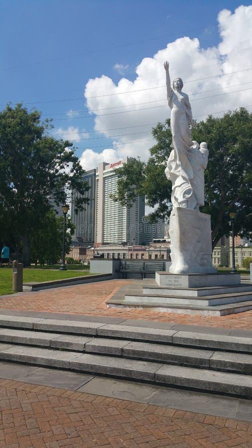 Statua di New Orleans immagini stock