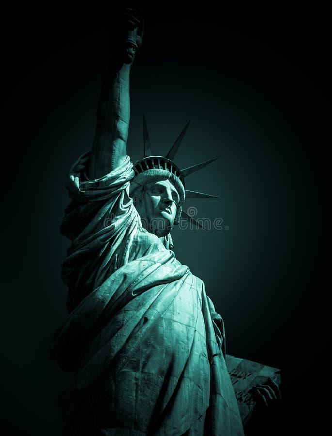 Statua di New York di Liberty Vignette immagine stock libera da diritti