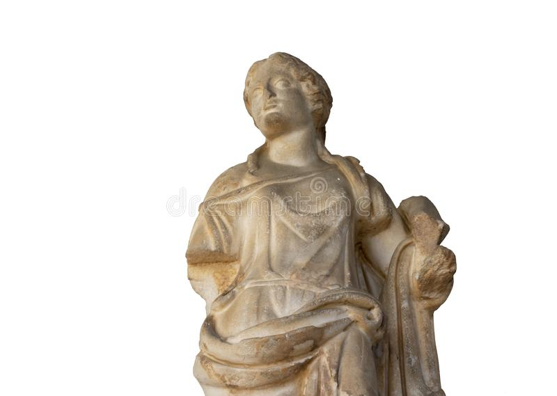 Statua di pietra classica fotografia stock