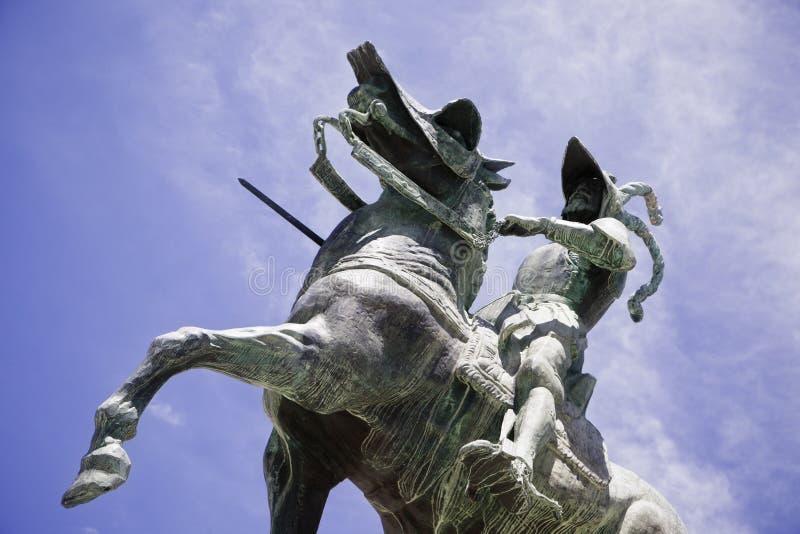 Statua di Pizarro immagine stock libera da diritti