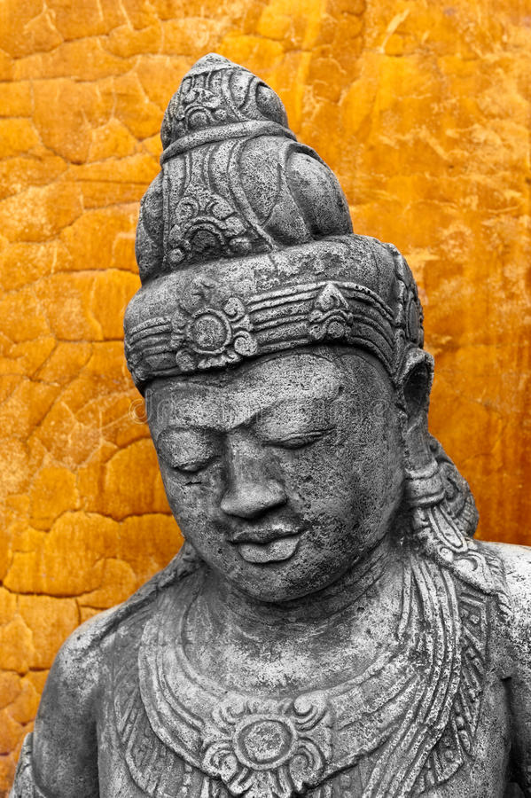 Statua di stile di Khmer fotografia stock