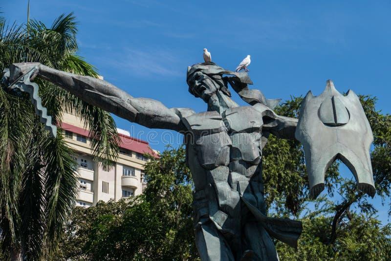 Statua di sulayman di ragià immagini stock libere da diritti