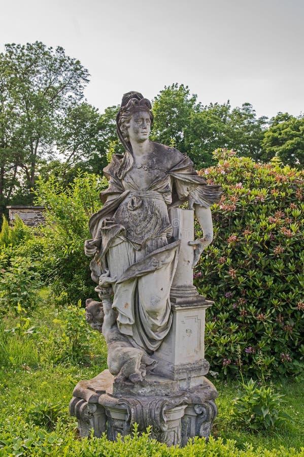 Statua di una donna fotografie stock