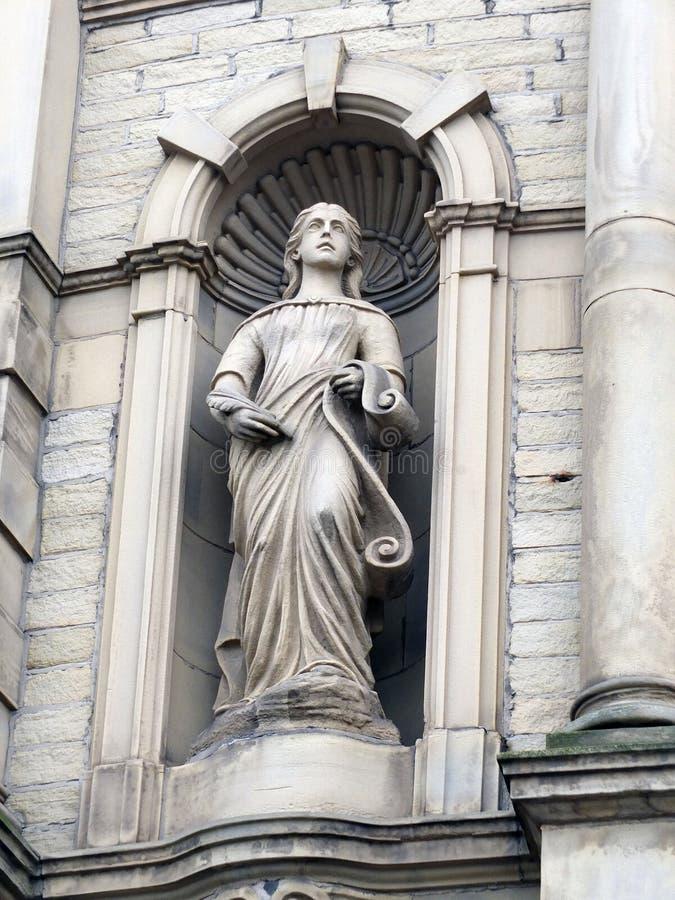 Statua dumający obraz stock
