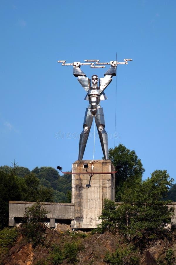 Download Statua elektryczność zdjęcie stock. Obraz złożonej z światła - 28962004