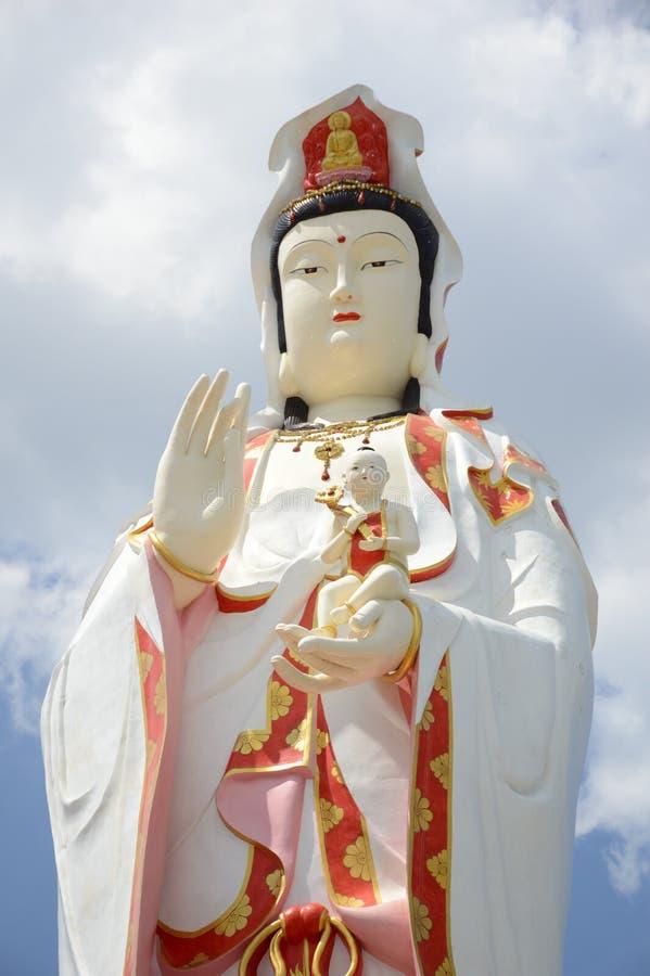Statua Guanyin w Tajlandia obrazy royalty free