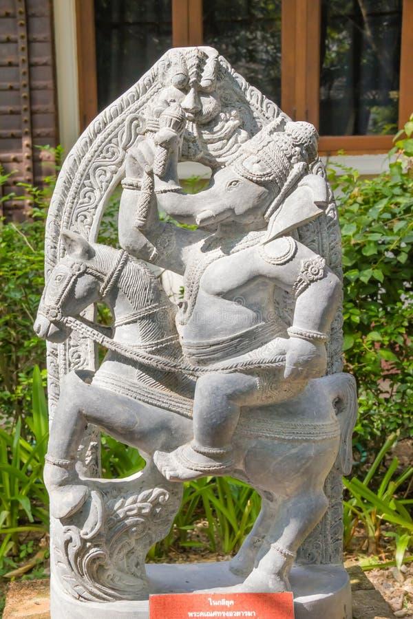 Statua Hinduski bóg Ganesha zdjęcie stock
