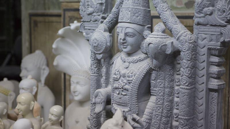 Statua Hinduski bóg Krishna Gopala Rzemiosła i sztuki India mu fotografia stock
