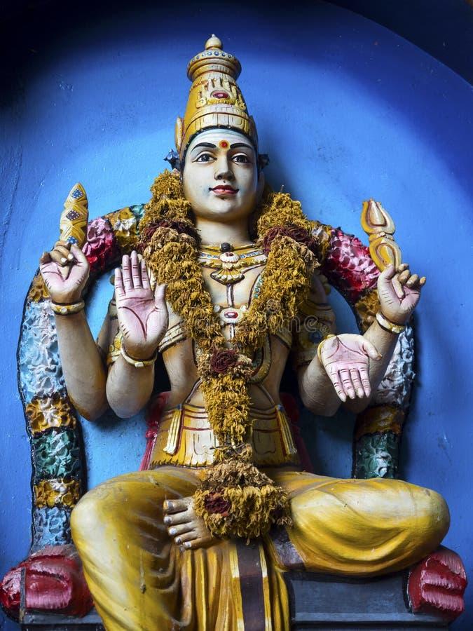 Statua Hinduski bóg przy Batu Zawala się, Kuala Lumpur, Malezja zdjęcie royalty free