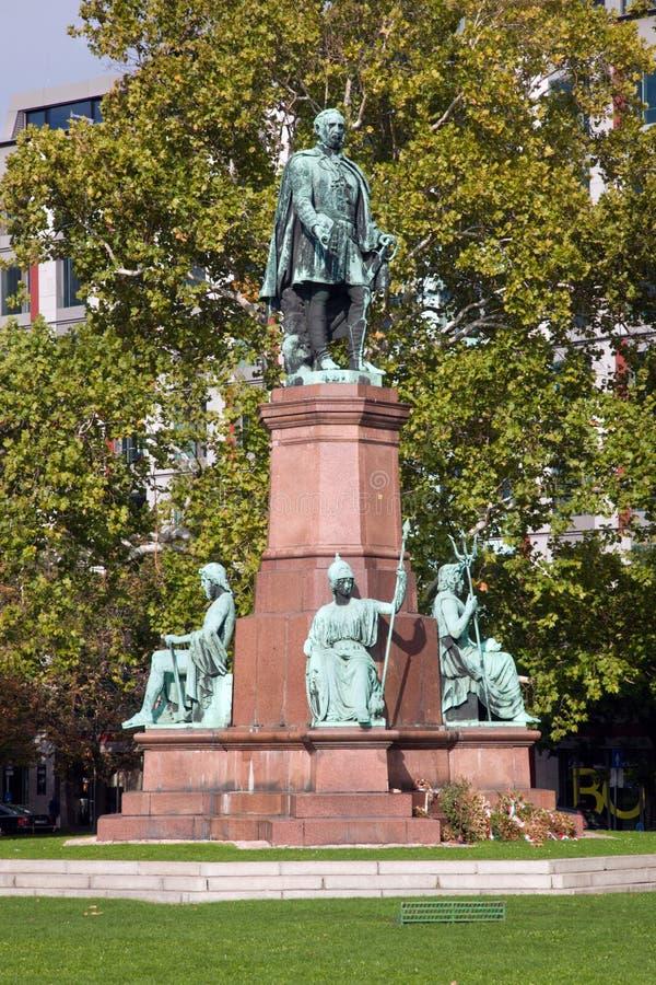 Statua Istvan Szechenyi. Budapest, Węgry obrazy royalty free