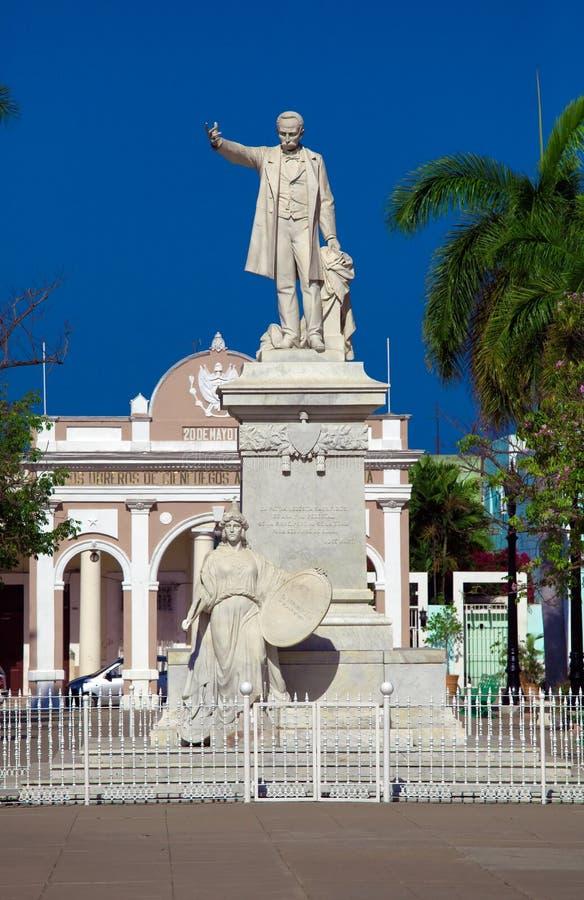 Statua Jose Marti zdjęcia stock