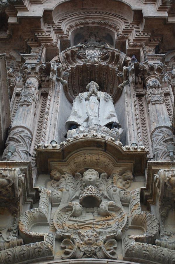 statua kościelny kamień obrazy stock