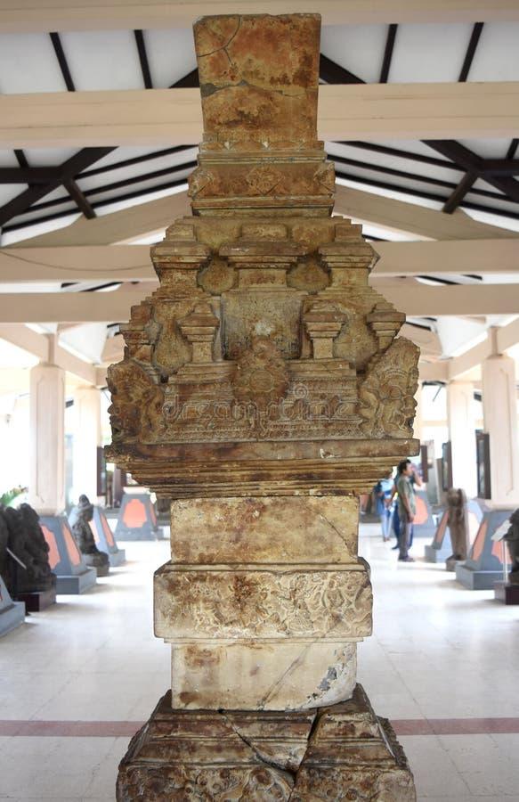 Statua majapahit królestwo w muzealnym Trowulan zdjęcia stock